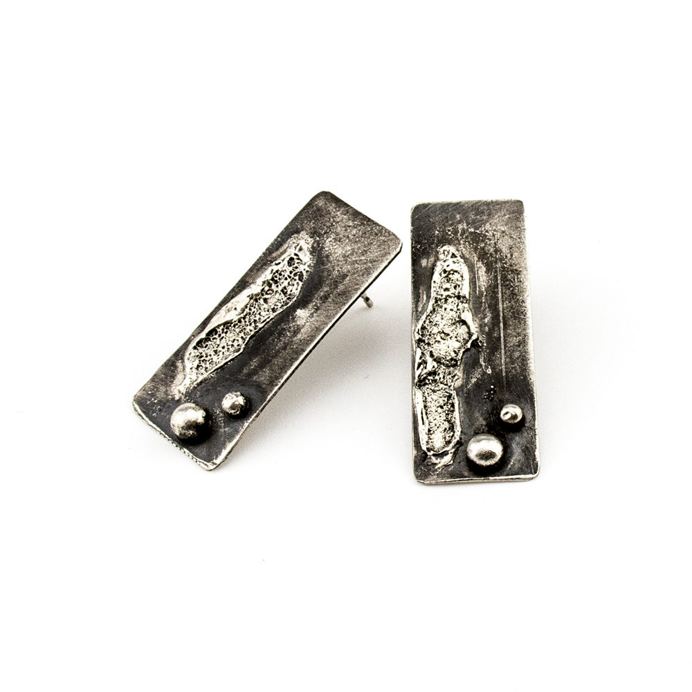 naušnice srebro