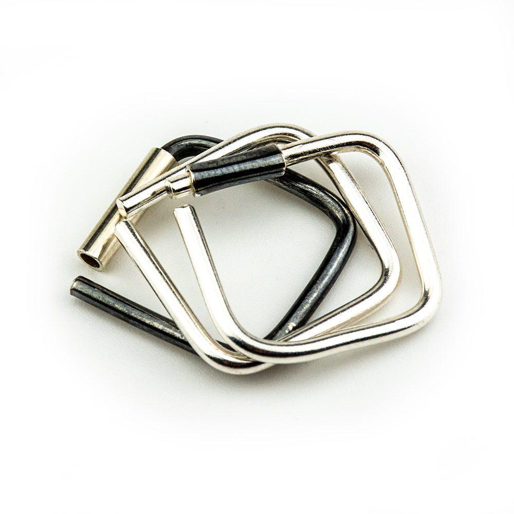 tri srebrna prstena