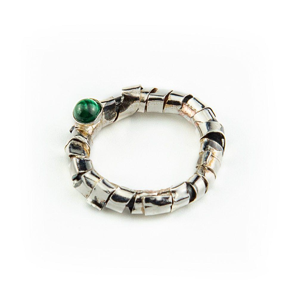 Prsten od srebra i bakra