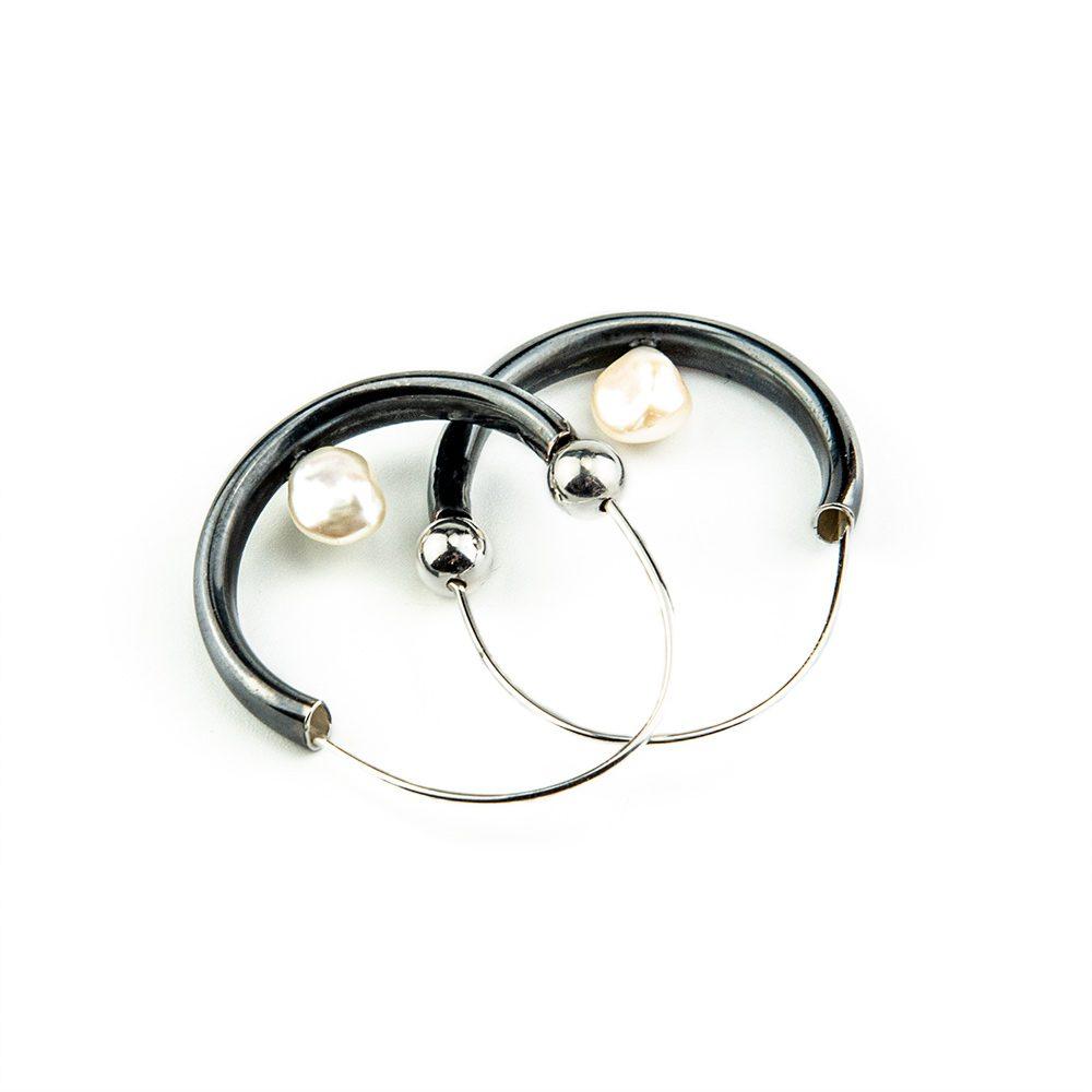 Srebrne verižice s patinom i biserom