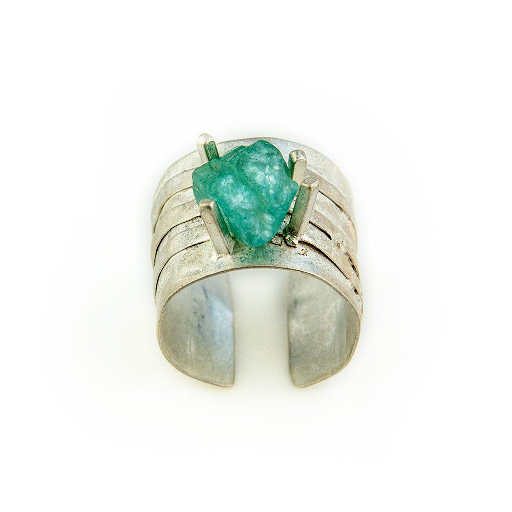 prsten akvamarin ručni rad