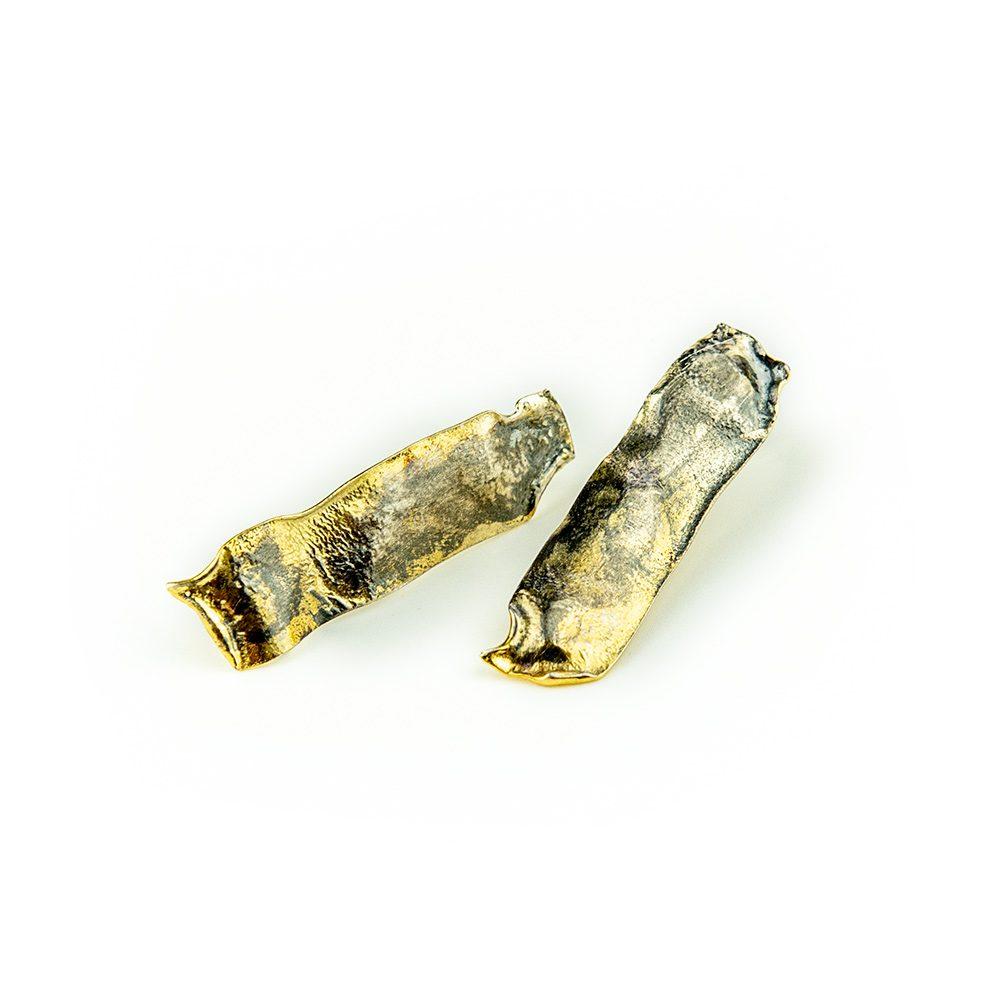 Srebrne naušnice unikatan nakit