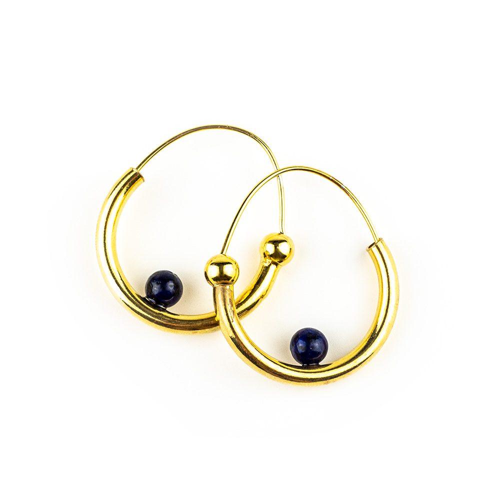 primorske naušnice lapis lazuli