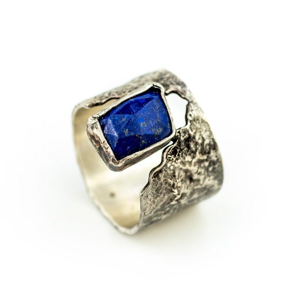 Prsten srebro i Lapis lazuli